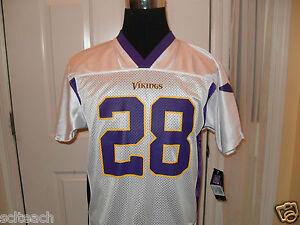 Brand-New-YOUTH-LARGE-14-16-Adrian-Peterson-28-Minnesota-Vikings-NFL-Jersey
