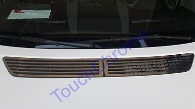 2006-2017 2 Pieces Chrome Bonnet Ventilation Hood Trim Fits Crafter