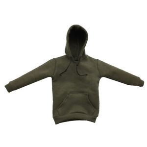 1//6 Scale Clothing Jacket Hoodie Tee Shirt Pants Hat for 12-inch Action Figure