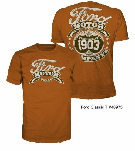 1903 Logo on a Rust Color Shirt Ford Classic T-Shirt Free Shipping to USA!