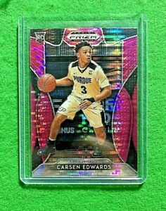 CARSEN-EDWARDS-PINK-PULSAR-PRIZM-ROOKIE-CARD-PURDUE-CELTICS-RC-2019-PRIZM-DP-RC