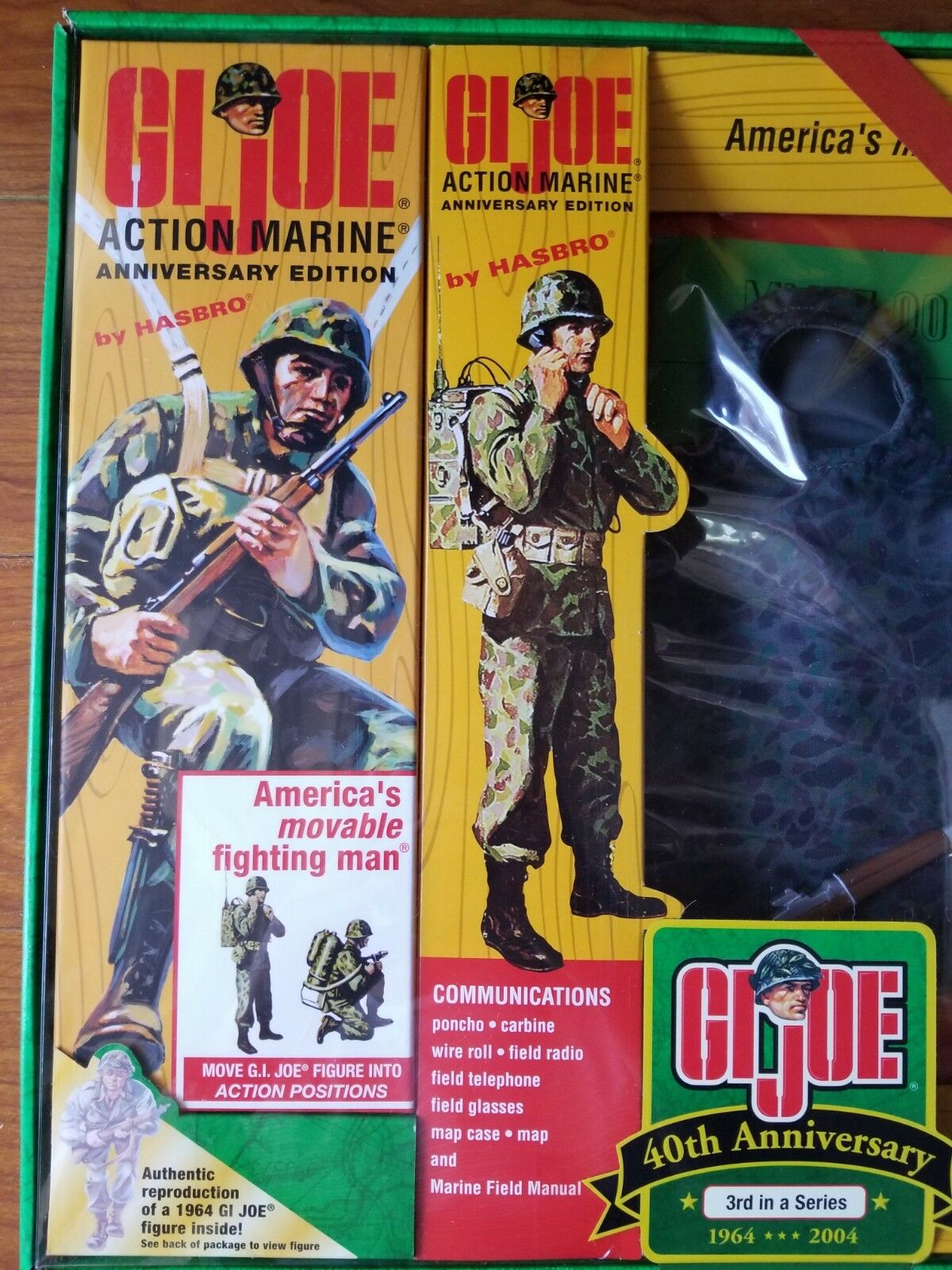 12 INCH G.I.JOE TIMELESS COLLECTION 40TH ANNIVERSARY 3RD IN A SERIES MARINE 2003