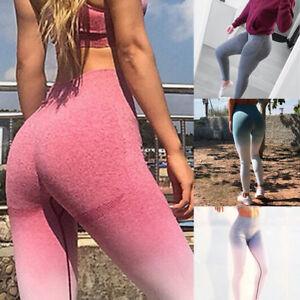 Women-Ladies-Workout-Tie-Dye-Print-Leggings-Fitness-Sport-Gym-Yoga-Athletic-Pant