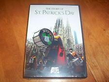 THE STORY OF ST. PATRICK'S DAY Ireland Irish US Holiday History A&E DVD NEW!