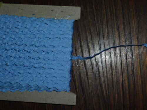 0,5//0,8cm 50m en cartón RDA opew azul claro zackenlitze//galon altura aprox 0,40 €//m