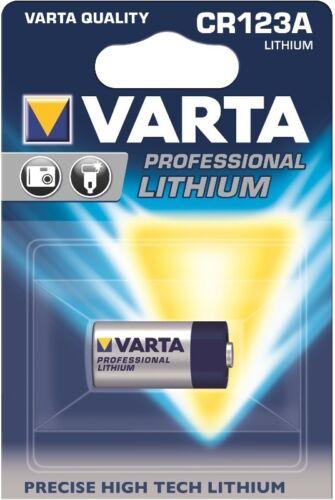MHD 6//2026 5 x 1er Blister 5 x Varta Professional Lithium 123 DL123A CR123A