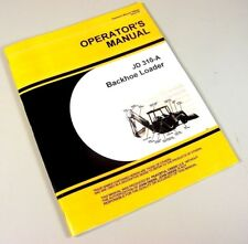Operators Manual For John Deere 310a Tractor Loader Backhoe Owners Adjustments
