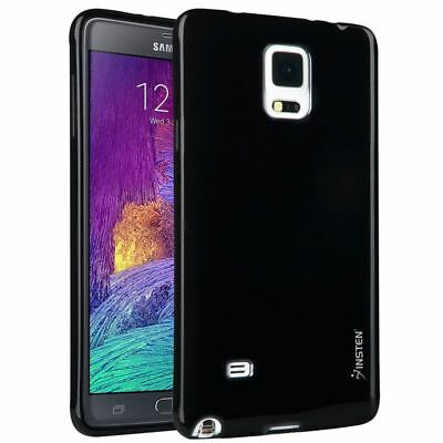 Black Hybrid Shockproof Hard Case Cover Skin Stand For Samsung Galaxy Note 4