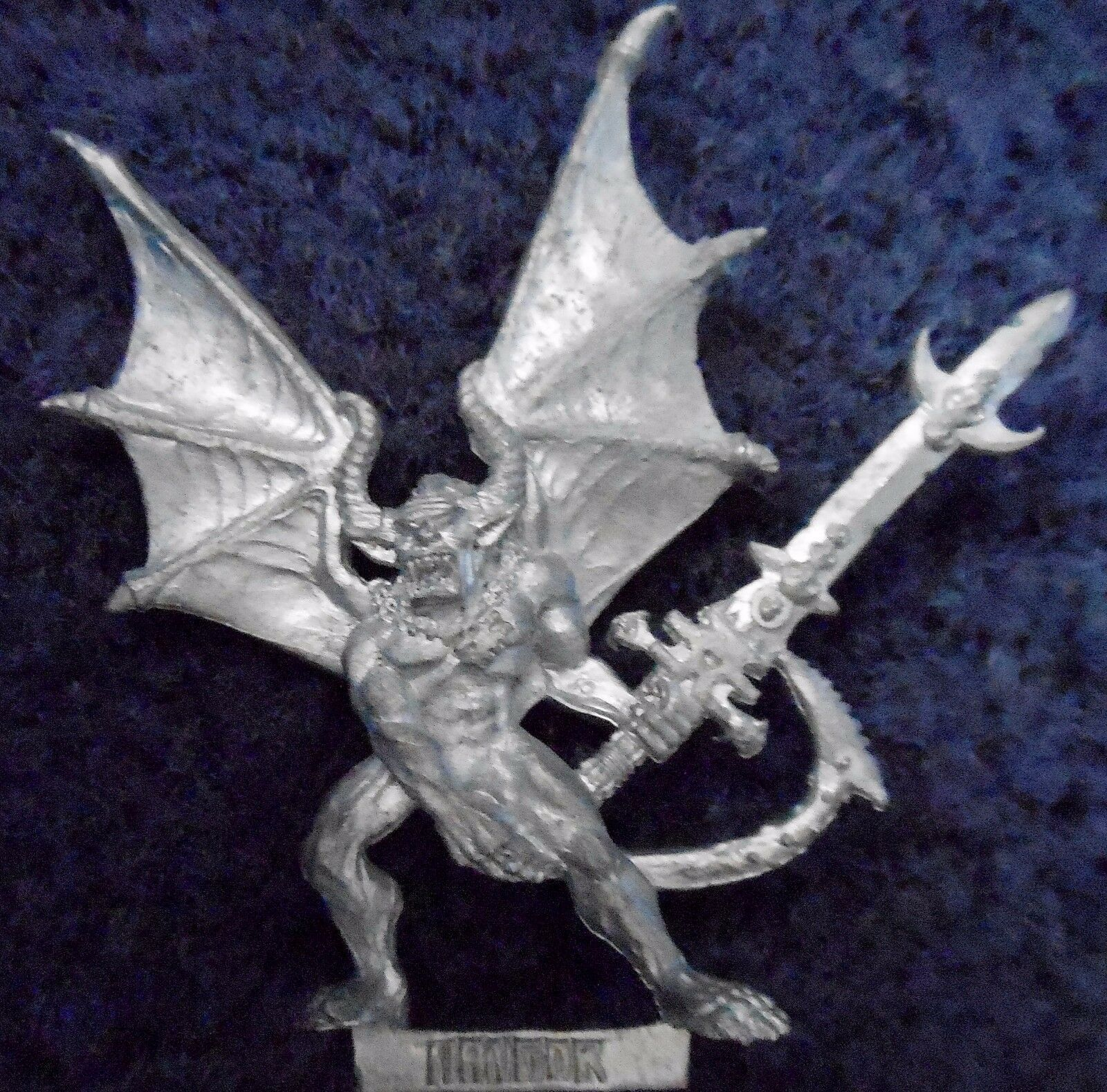 1992 EPIC Chaos Chaos Chaos Angron Démon primarch of Khorne Citadel warhammer 6 mm 40K Demon f4f396