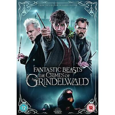 Fantastic Beasts: The Crimes of Grindelwald (DVD) Harry Potter / JK Rowling