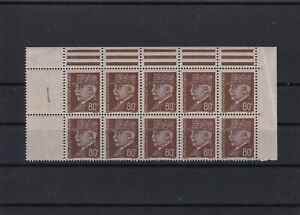 france  mint never hinged collectors stamps block minor creasing  ref r12254