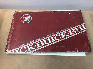 1991 BUICK LESABRE ELECTRICAL SYSTEMS WIRING DIAGRAMS MANUAL | eBayeBay