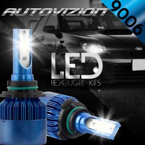 Details About Autovizion Led Headlight Kit 9006 White For 2002 2006 Chevrolet Trailblazer Ext
