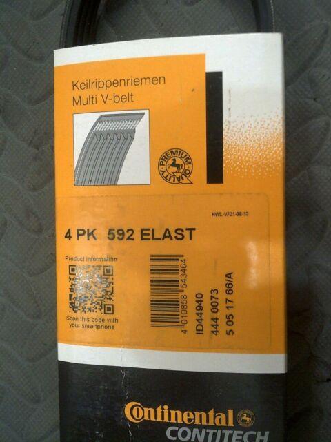 Contitech Keilrippenriemen 4PK592ELAST für BMW