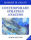 Contemporary Strategy Analysis by Robert M. Grant (Paperback, 2015)