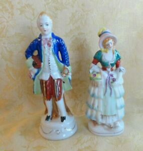 Pair Vintage Japan Occupied Japan Man Woman Figurines Ebay