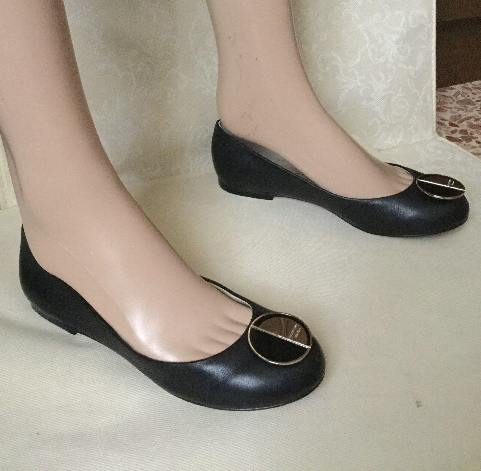 Fantastic scarpe WEEKEND Max Mara Wouomo, nero Coloreee, Dimensione 36, leather Scarpe