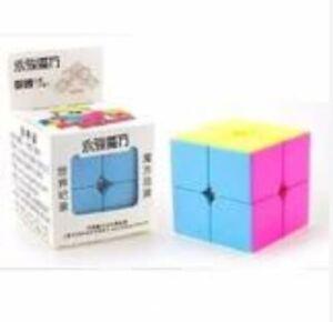 Rubiks-039-s-Cube-2x2-YongJun-Mofang-Yupo-YJ8309-Stickerless