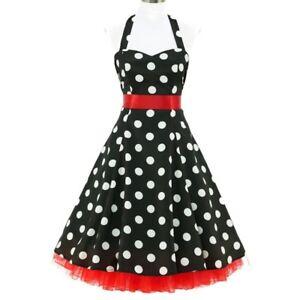 fe7a9e9292fe9a 50er Jahre Rockabilly Kleid Vintage 50' Retro Chloe Polka Dots Retro ...