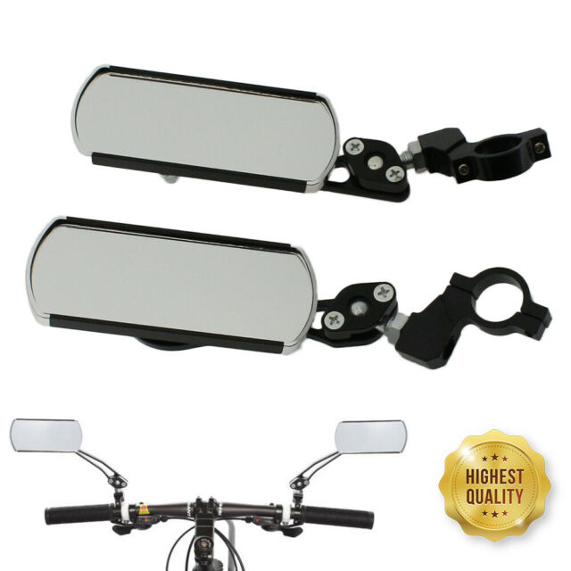 360°Universal Cycling Bike Bicycle Handlebar Rear View Rearview Reflector Mirror