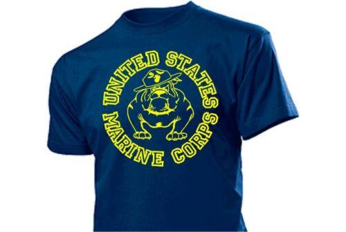 United States Marine Corps T-Shirt Bouledogue US ARMY S-XXL Drill d/'Instructeur USMC