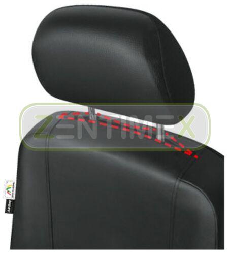 Sitzbezüge Schonbezüge SET QS für Toyota Hiace Kunstleder schwarz
