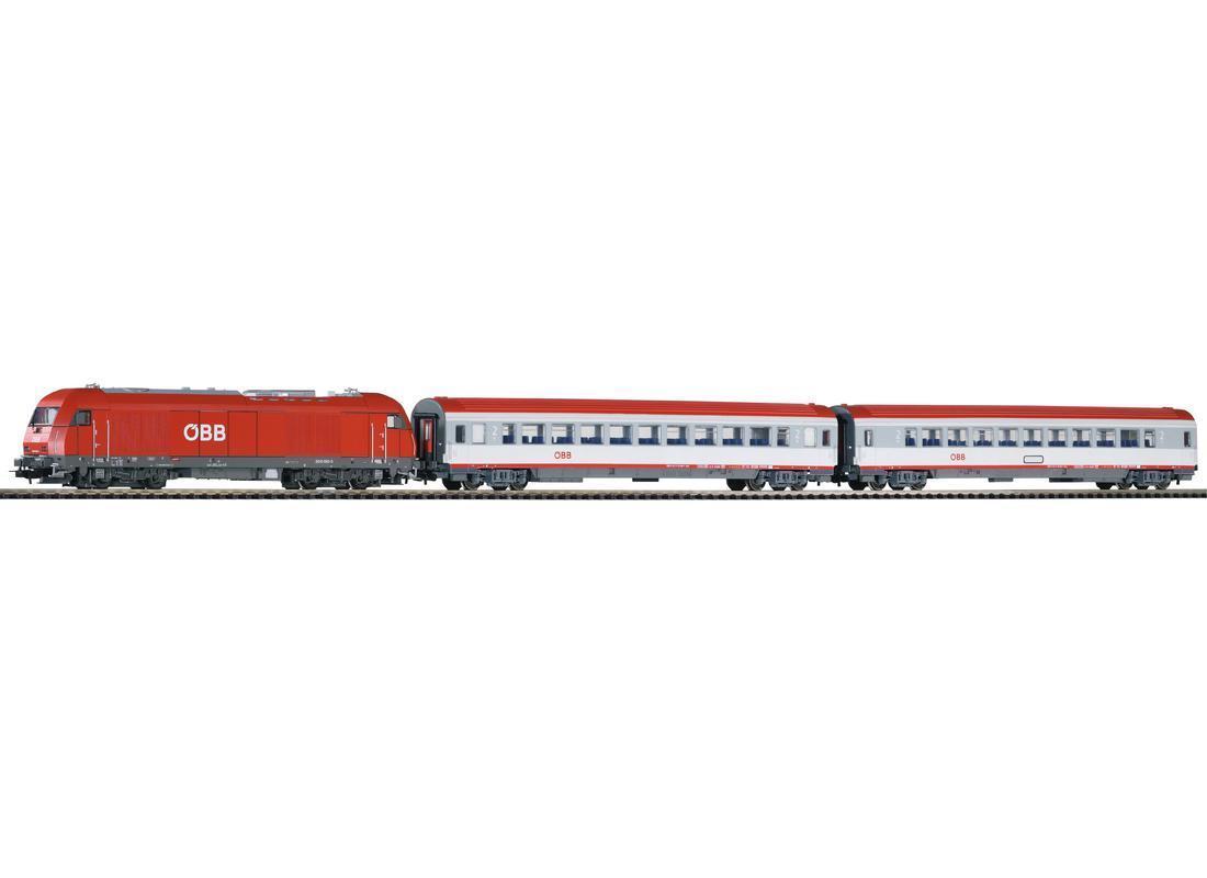 PIKO h0 59009-SmartControl light set treno rh2016, OBB, Ep. V Merce Nuova
