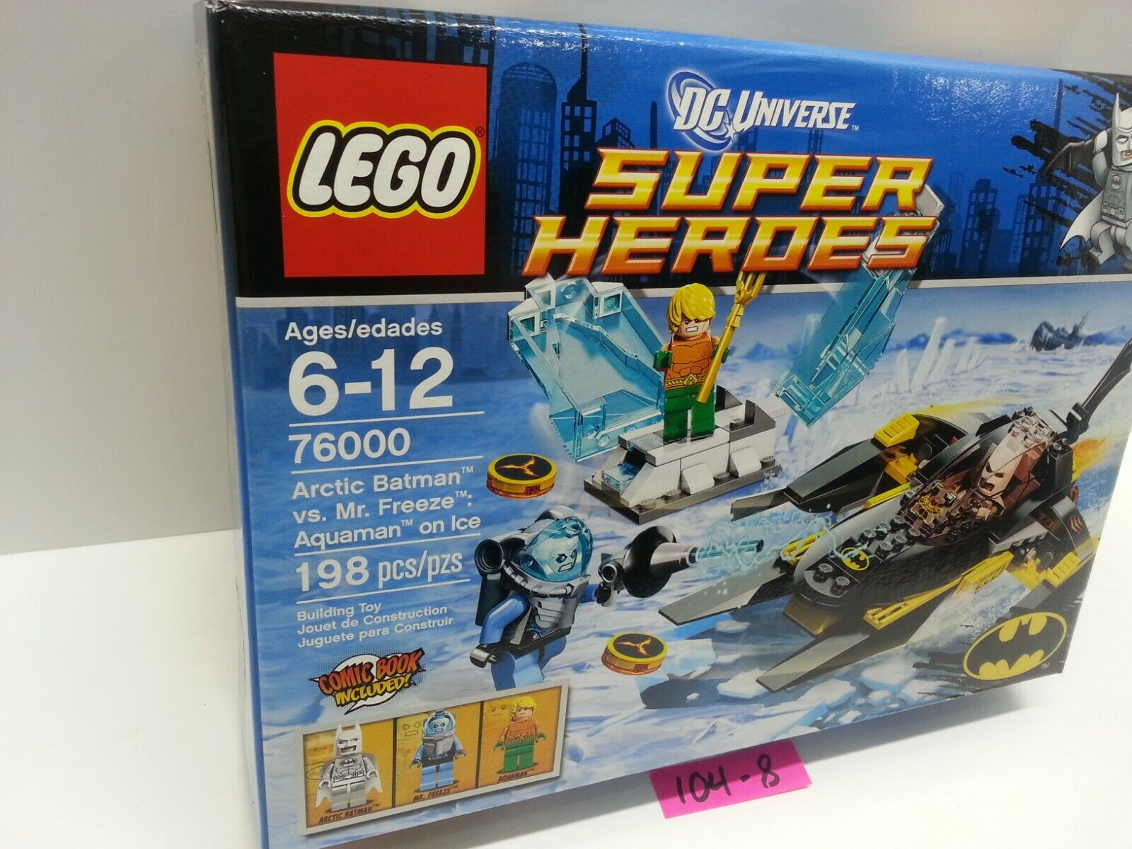 LEGO 76000 - - - Super Heroes - Arctic Batman vs. Mr Freeze  Aquaman on Ice - NEW aae55d
