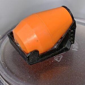 Mixer-part-only-from-Matchbox-1981-Peterbilt-Cement-Truck-034-Big-Pete-034-No-19