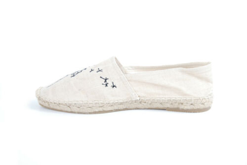 5 Espadrille White 4 Dandelion Rrp £73 Unisex Uk Bcf511 The Old House Prints qwzZnpxS