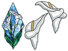 Stained Glass Supplies Loon Bevel Cluster with Free Pattern
