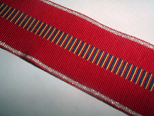 MEDAL RIBBON-ROMANIA/ROMANIAN WW2 WAR AGAINST COMMUNISM MEDAL RIBBON