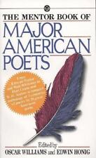 The Mentor Book of Major American Poets by Oscar Williams (1962, Paperback)