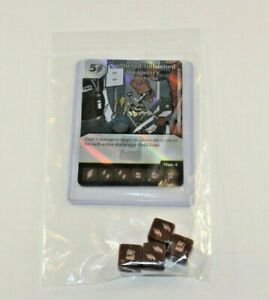 Marvel Dice Masters Deadpool SATCHEL of UNLIMITED WEAPONRY RARE Set CUR 4 dice