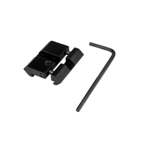 Dovetail to Weaver Picatinny Adapter Snap In Rail Adapter 11mm to 21mm Adapter