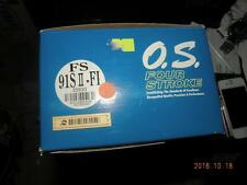 O.S. FS91 Sll-FI ELECTRONIC FUEL INJECTION FOUR 4 STROKE ENGINE #OS35930