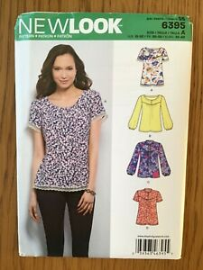 NEW-LOOK-SEWING-PATTERN-No-K6395-MISSES-SEVEN-SIZES-IN-ONE