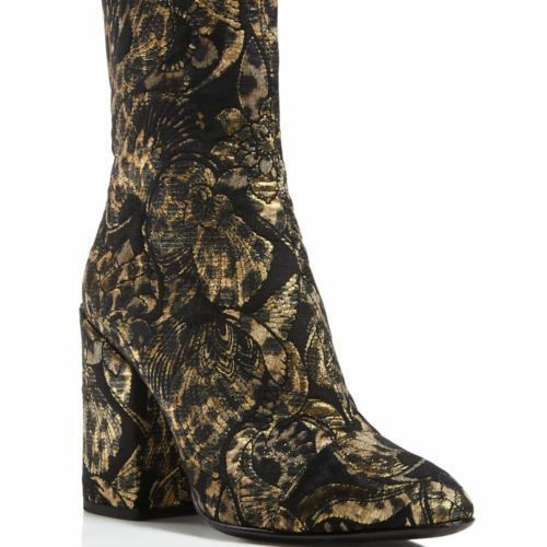 ASH ASH ASH Womens Flora Metallic Jacquard Ankle Dress Boots shoes SZ 38 NEW 73d674