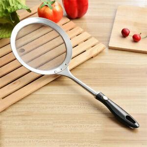 Strainer Spoon Mesh Net Filter Colander Skimmer Kitchen Frying Cooking Too N7