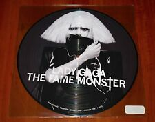"""LADY GAGA FAME MONSTER LP 12"""" PICTURE DISC VINYL *RARE US PRESS 2009 LIMITED New"""