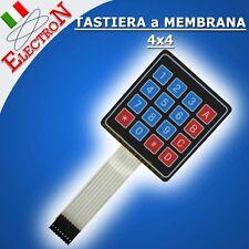 Tastiera Alfanumerica 4x4a Membrana 16Key Matrix Membrane Keypad Arduino PIC AVR