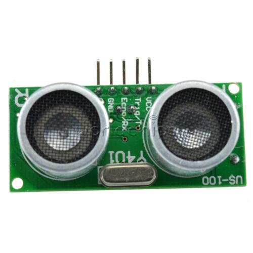US-100 Ultrasonic Sensor Module With Temperature Compensation Range