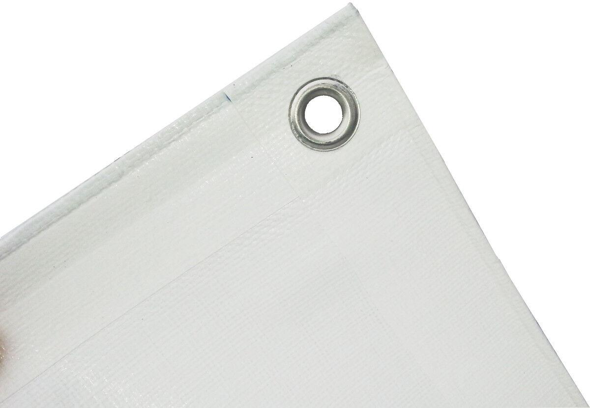 Lona cobertora lona tejidos 180g m² blancoo, 8x12m bota lona lona projoectora lona de cobertura