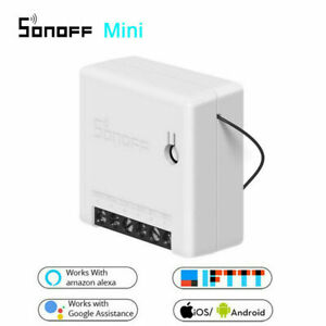 NEW-SONOFF-Mini-Wifi-DIY-Smart-Switch-Voice-APP-Remote-Control-Android-IOS-Equip