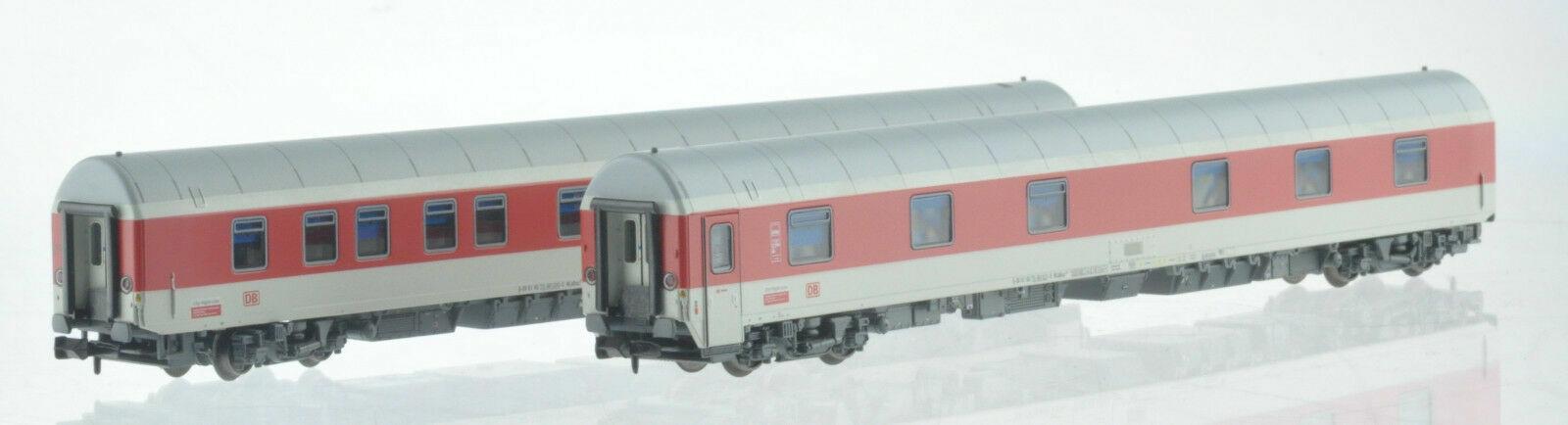Pirata lemke LC 96910 n DB AG CNL 2x coche-cama tren rojo blancoo ep6 nuevo + embalaje original