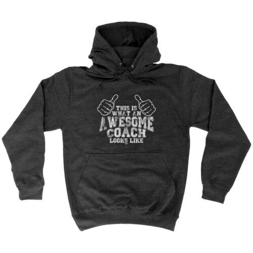 Funny Novelty Hoodie Hoody hooded Top Awesome Coach