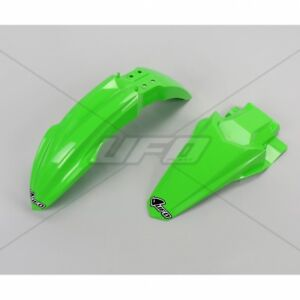 UFO Front Rear Fender Kit Kawasaki KX 125 250 1993 Green
