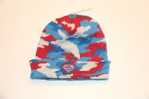 27d0bd3ca Details about Baby Gap + Junk Food Boy Supermen knitted Beanie Hat NwT XS/S  S/M M/L
