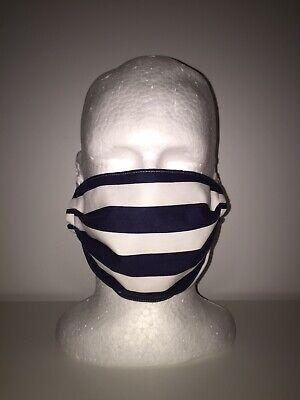 Geelong Cats Afl Football Style Handmade Reusable Washable Face Mask Ebay