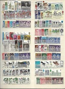 GB-COLLECTION-210-LARGE-COMMEMORATIVES-USED-1935-1989-NO-CHRISTMAS-2-SCANS